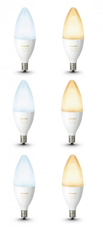 Philips Hue E14.Combideal Philips Hue E14 6x Ledlamp Kaars White Ambiance