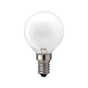 10x e14 gloeilamp kogel 7 watt mat gloeilampen for Lampen 40 watt