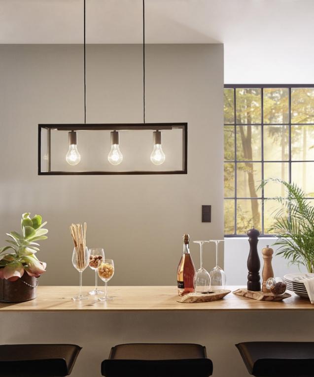 hanglamp eglo charterhouse vintage collection 49393 vintage. Black Bedroom Furniture Sets. Home Design Ideas
