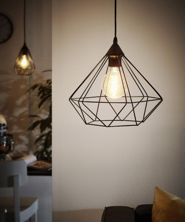 hanglamp eglo tarbes vintage collection 94188 vintage. Black Bedroom Furniture Sets. Home Design Ideas